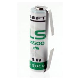 Saft Lithium batterij AA 3.6 Volt LS14500CNR