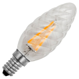 GBO LED Twisted - kaarslamp E14 helder 1.5 Watt 922 DB