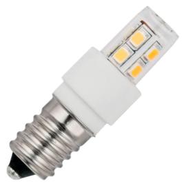 GBO LED buislamp T17x52mm helder 2 Watt E14 827 2700K ND