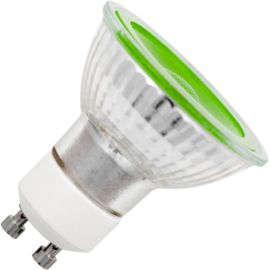 GBO LED reflectorlamp GU10 groen 5 Watt 38° DB