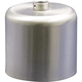 GBO plafondkap cylinder mat nikkel