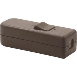 GBO snoerschakelaar 1 polig bruin 0-1 laagspanning