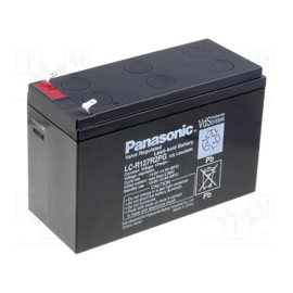 Panasonic Loodgel Accu 12.0 Volt 7.0 Ah