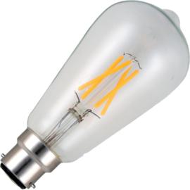 GBO LED Rustika lamp E27 helder 4 Watt 925 DB
