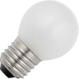 GBO standaard marine  kogellamp  G45 mat 15 Watt E27