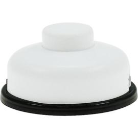 GBO voetschakelaar 1 polig wit 0-1 laagspanning