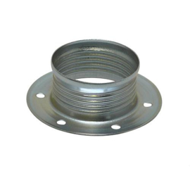 GBO metalen schroefring chroom ø 46 x 12 mm