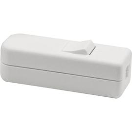 GBO snoerschakelaar 1 polig wit 0-1 laagspanning