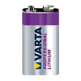 Varta Lithium batterij 6LR61 9 Volt 6122