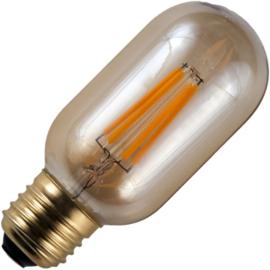 GBO LED buislamp T45 E27 gold 4 Watt 925 DB