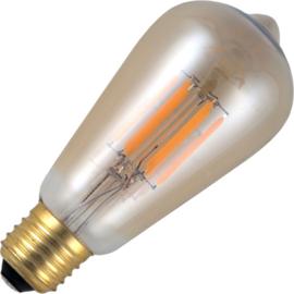 GBO LED Rustika lamp E27 gold 5.5 Watt 922 DB