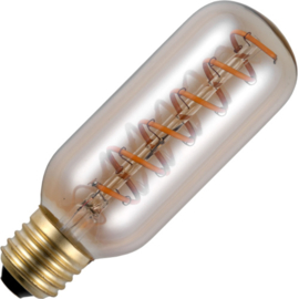GBO LED axiale spiraalbuis lamp T45 E27 gold 4.5 Watt 922 DB