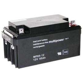 Multipower Loodgel Accu 12.0 Volt 65.0 Ah met VdS-Keur