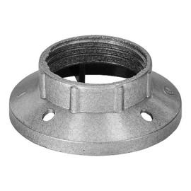 GBO kunststof schroefring  E14 zilver ø 40 x 16 mm