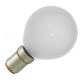 GBO standaard marine  kogellamp  G45 mat 15 Watt Ba15d