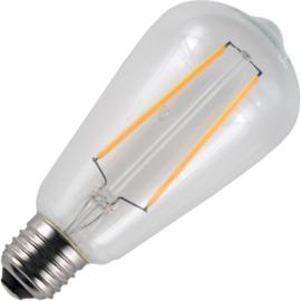 GBO LED Rustika lamp E27 helder 2.5 Watt 922 DB