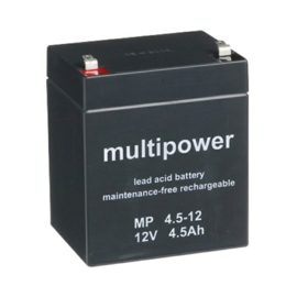 Multipower Loodgel Accu 12.0 Volt 4.5 Ah