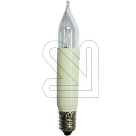 Konstsmiede kaarslamp ivoor helder kort model 8 Volt 3 Watt E10 Bls