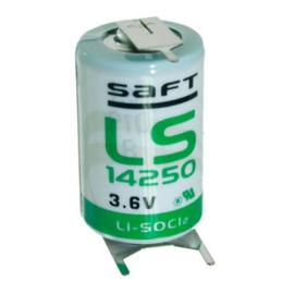 Saft Lithium batterij 1/2AA 3.6 Volt LS14250-3PF