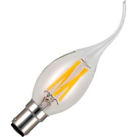 GBO LED - Tip kaarslamp Ba15d helder 4 Watt 925 DB