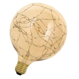 Bailey Wireled Globe G125 ledlamp E27 helder goud 1.5 Watt 725 ND