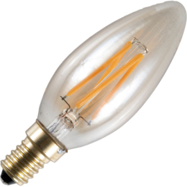 GBO LED kaarslamp E14 gold 4 Watt 922 DB