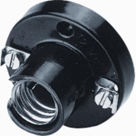 Kaiser illuminatielamphouder E14 opbouw zwart