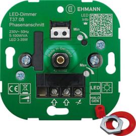 GBO universele LED inbouwdimmer 3 - 100 Watt