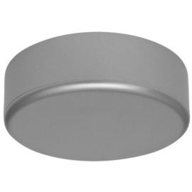 GBO afdekplaat mat zilver