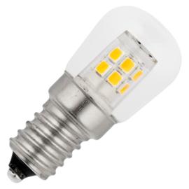 GBO LED schakelbordlamp P23x51mm helder 2 Watt E14 827 2700K ND
