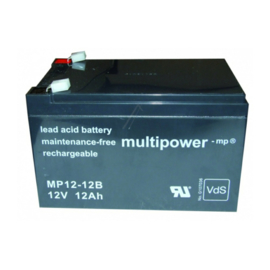 Multipower Loodgel Accu 12.0 Volt 12.0 Ah met VdS-Keur