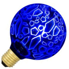 Bailey LED Globe lamp G95 E27 helder Magic3D Shards Blauw 4.5 Watt  ND