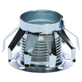 GBO metalen schroefring chroom voor glasballon ø 40 x 26 mm