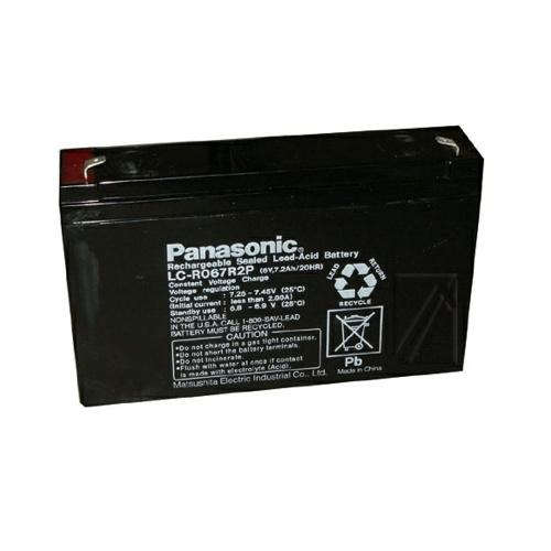 Panasonic Loodgel Accu 6.0 Volt 7.2 Ah