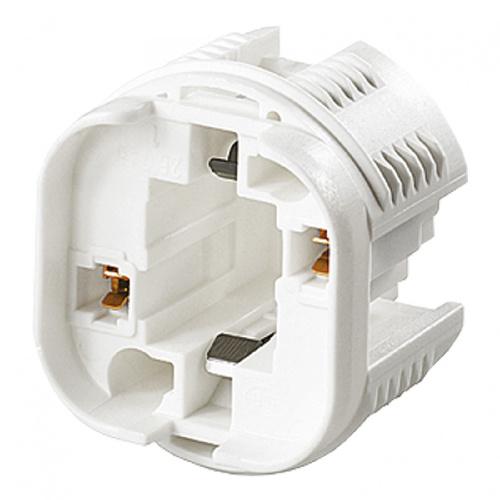 GBO universele lamphouder G24D.. - 2 pins vervangt D1, D2, en D3