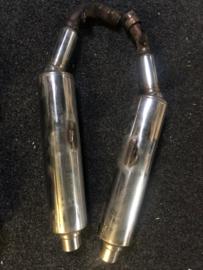 Uitlaat dempers Honda VTR1000F 1997 - 2004