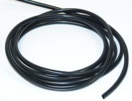 pvc isolatie kous zwart per meter , kabelboom bekleding