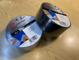 Linnen / duct / duck cloth tape  3M 48mm x 50 meter