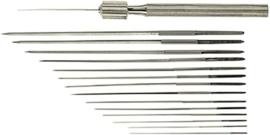 Stahlwille sproeier ruimers / naaldruimers 10 stuks / Sproeikopruimers 033 - 2 mm - 74310001