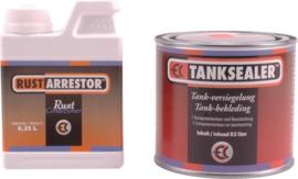 EC Tanksealer  ( Tankcure Tank coating tankseal ) met ontroester rust arrestor