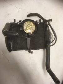Gebruikte Radiateur Yamaha YZF R6 , gebruikt onderdeel van sloop motor