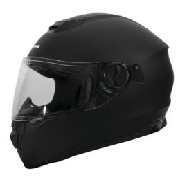 Helm Jopa Drifter matt zwart met zonne vizier