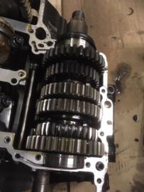 Versnellingsbak Yamaha YZF R6 , gebruikt onderdeel van sloop motor