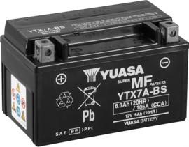 Yuasa YTX7A-BS  ( A kwaliteit accu van Yuasa )