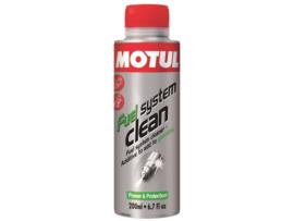 MOTUL FUEL SYSTEM CLEAN 200ML E10 probleem oplosser