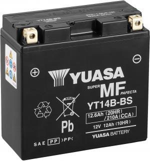 Accu Yuasa YT14B-BS ( beste keuze )