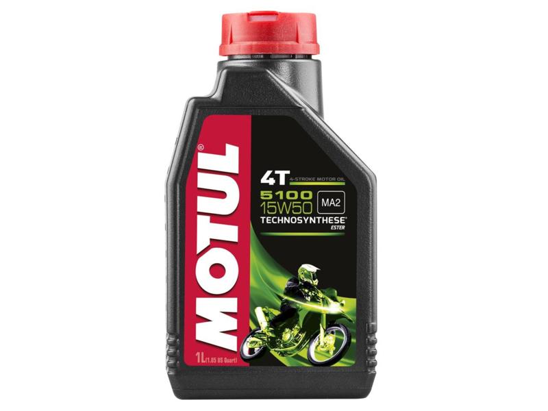 MOTUL 5100 4T 15W50 Half-synthetisch 1L
