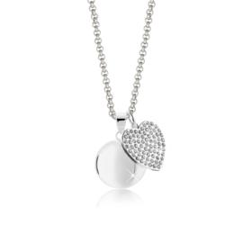 Harmony Ball Crystal Heart