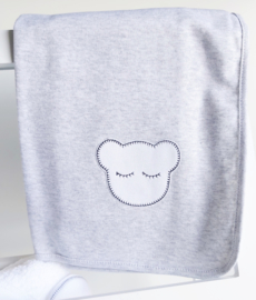 Sleepy Bear Katoen dekentje grijs