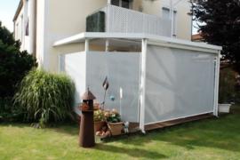 Oprolbaar windscherm Inova t/m 230 cm hoog
